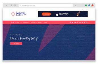 dblogger - free wordpress blog theme