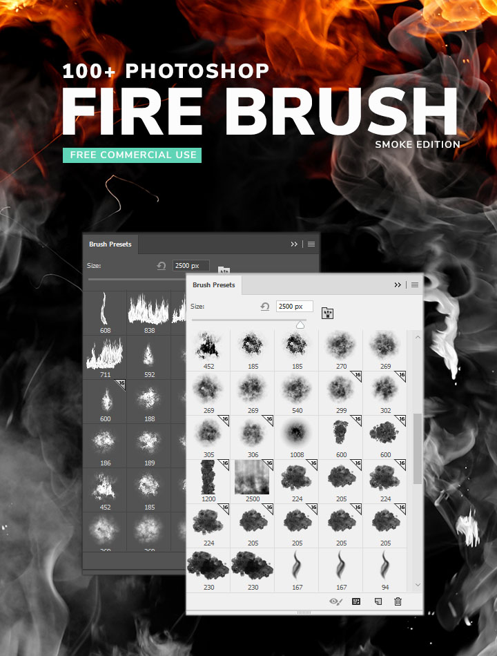 1100+ Free Photoshop Smoke Brushes - DesignSeer