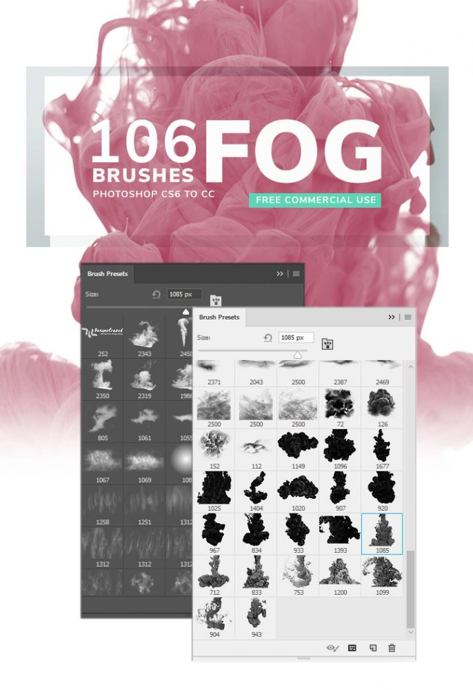 Fog photoshop brushes for free download