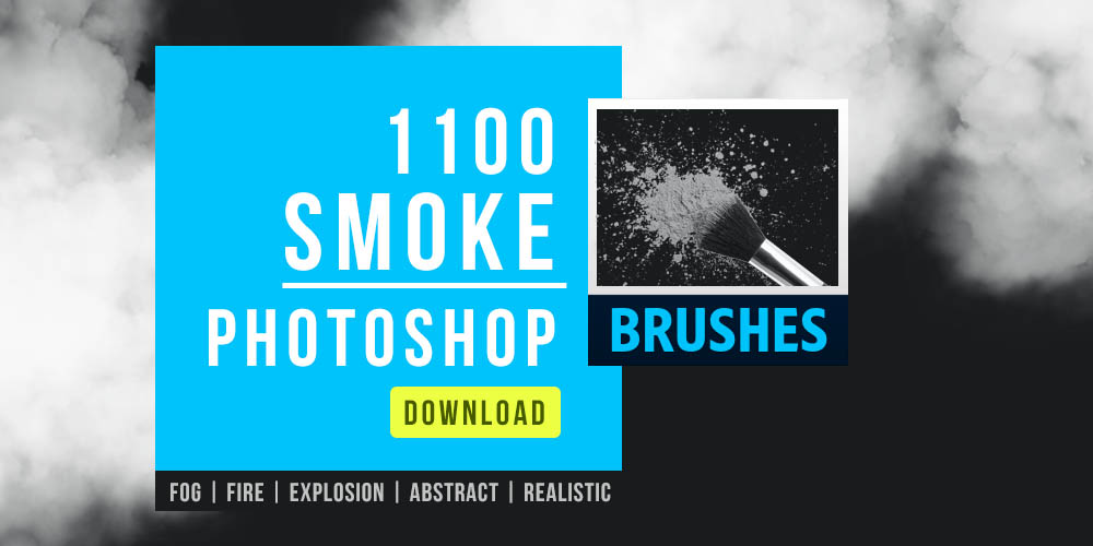1100 Free Smoke Brushes Photoshop for commercial designs