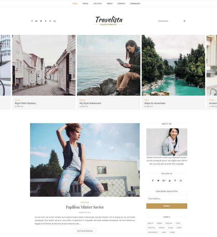 travelista theme