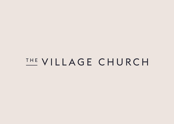 typography logo for church communities