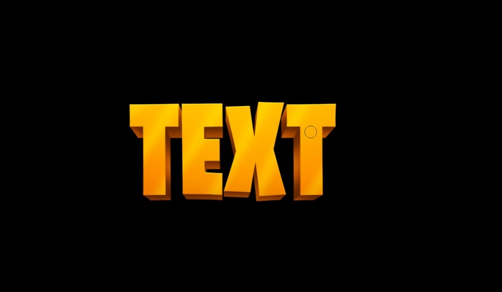 Make 3D Text in Photoshop