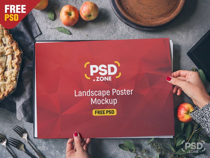 50 Free Flyer Mockups PSD for Realistic Effects