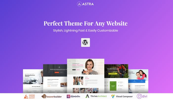 astra starter theme
