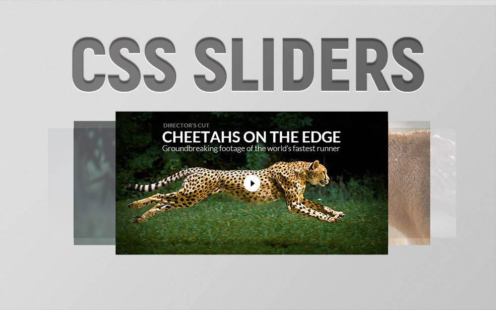 css image sliders