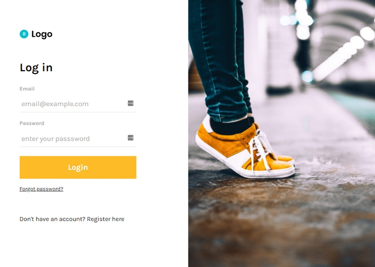 free bootstrap login form css