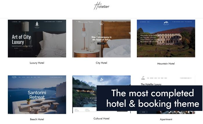 hoteller theme