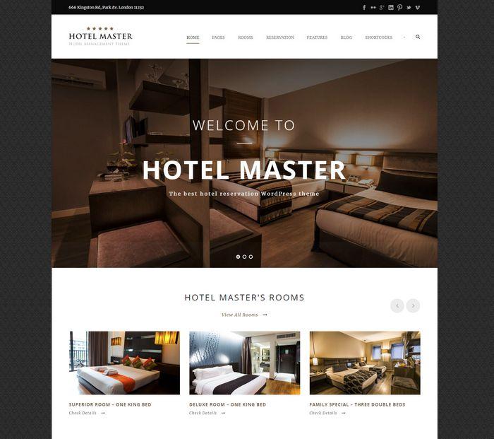 hotelmaster theme