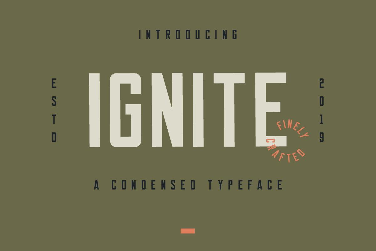 ignite font