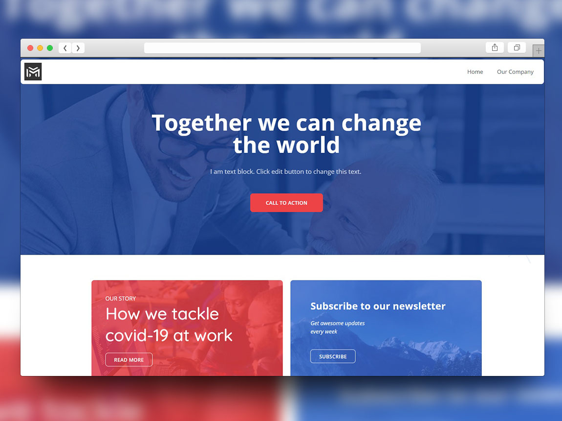 mempis-consulting-website-template