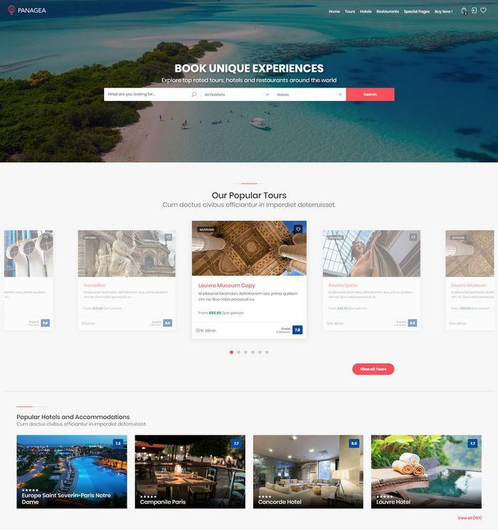 panagea WordPress theme