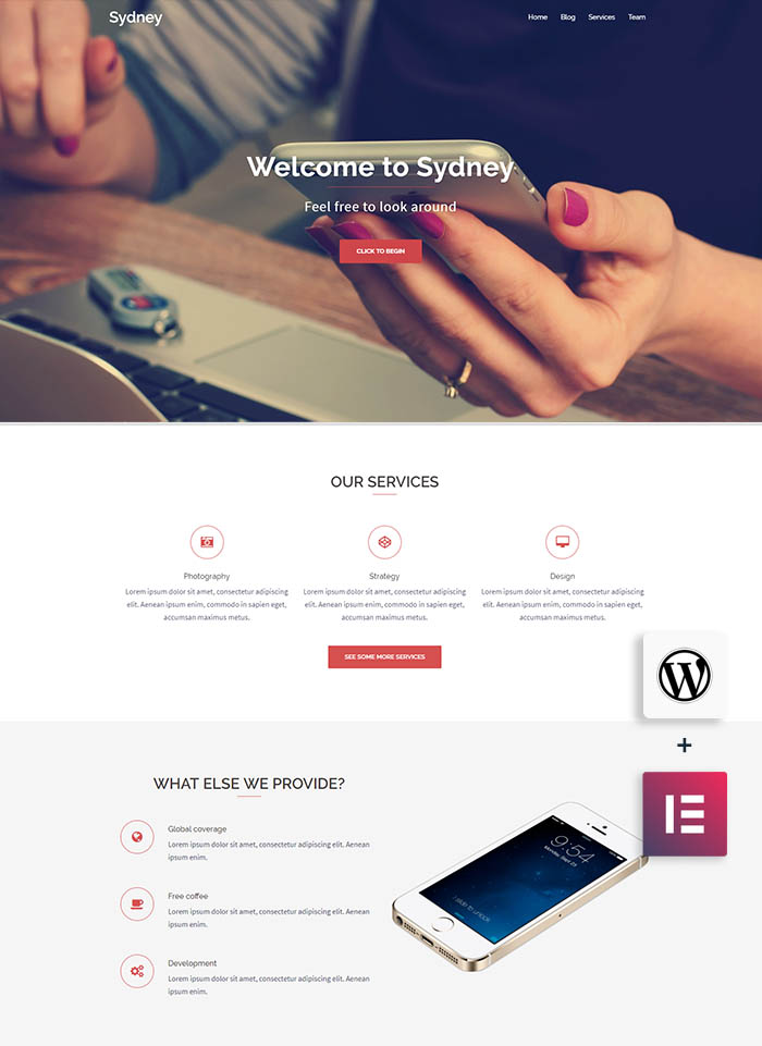 sydney business theme